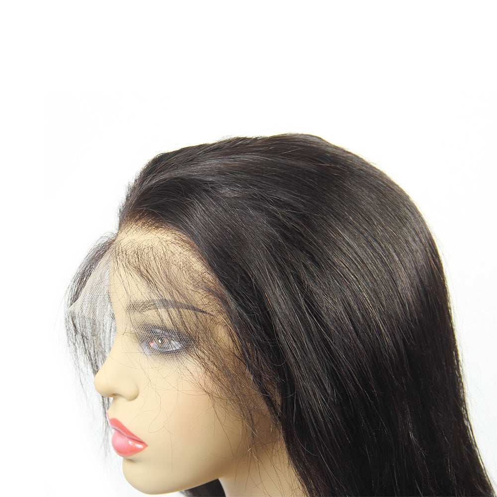 HD lace wigs full lace wig straight wave virgin human hair | Tenlon Hair