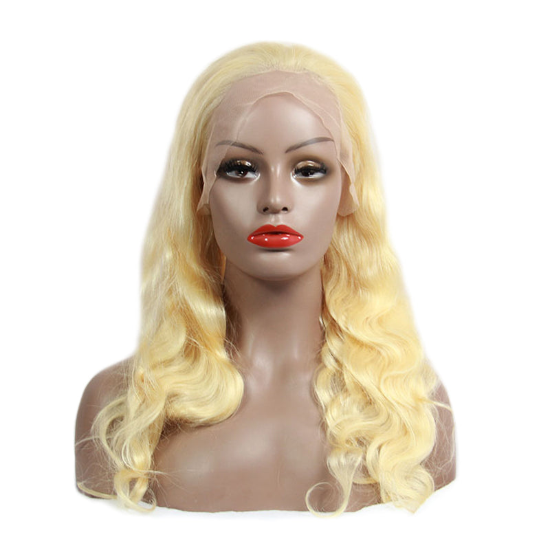 Lace front wigs human hair 613 blonde body wave | Tenlon Hair