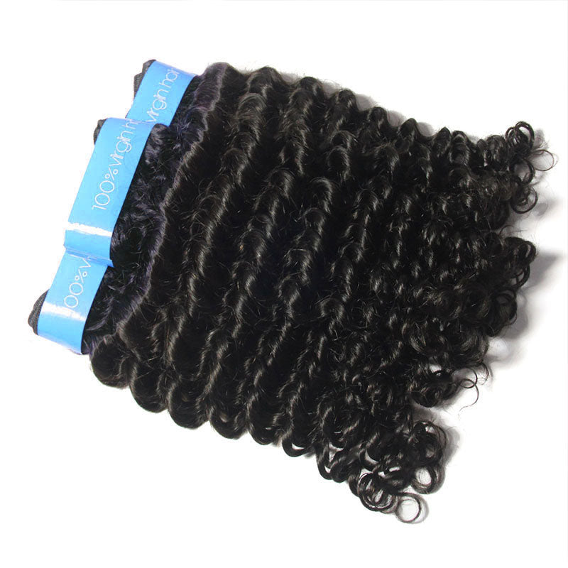 Wholesale Cuticle Aligned Malaysian Curly Hair 3 bundles Vendor |TENLON