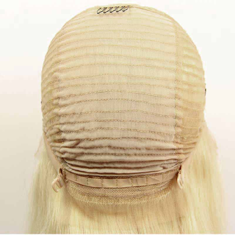 Lace front human hair wigs 613 blonde straight | Tenlon Hair