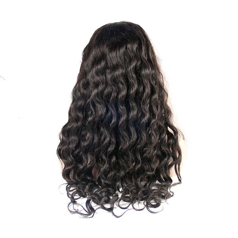 Lace front wig human hair loose wave for black women | Tenlon Hair
