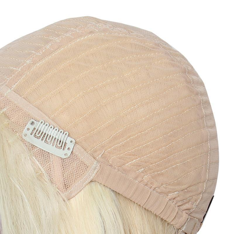 wholesale 613 blonde straight bob wigs 13*6 lace front wig vendor-Tenlon