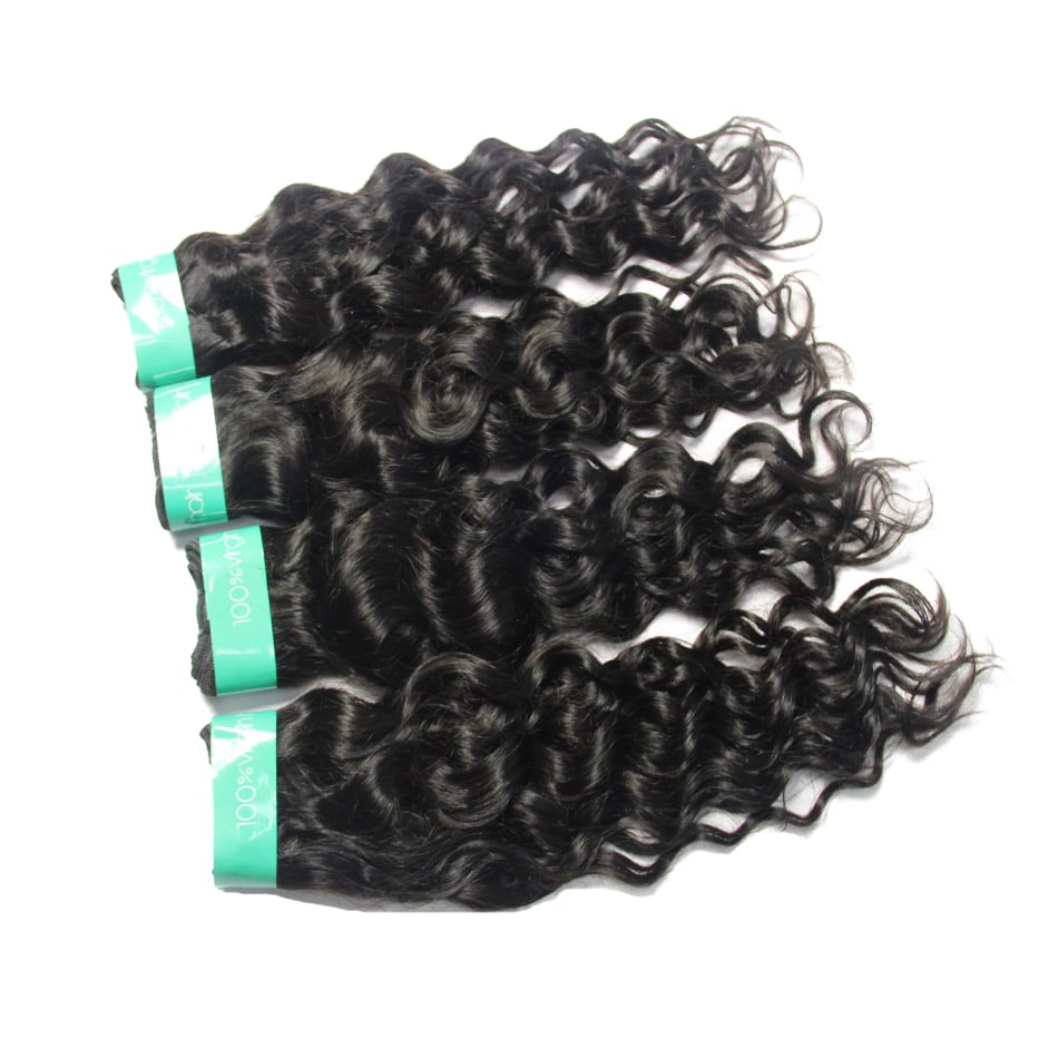 wholesale cuticle aligned hair Italian Curly 4Bundles vendors | TENLON