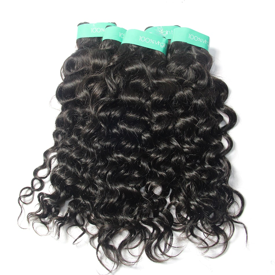 Indian Virgin Remy Human Hair Italian Curly 3 Bundles vendor | TENLON