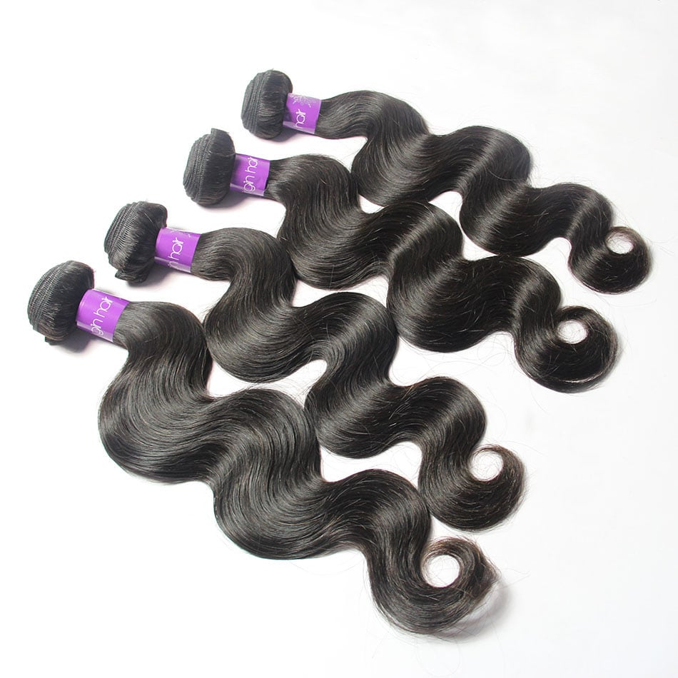 Peruvian Body Wave wholesale Virgin Remy Human Hair 4Bundles | TENLON