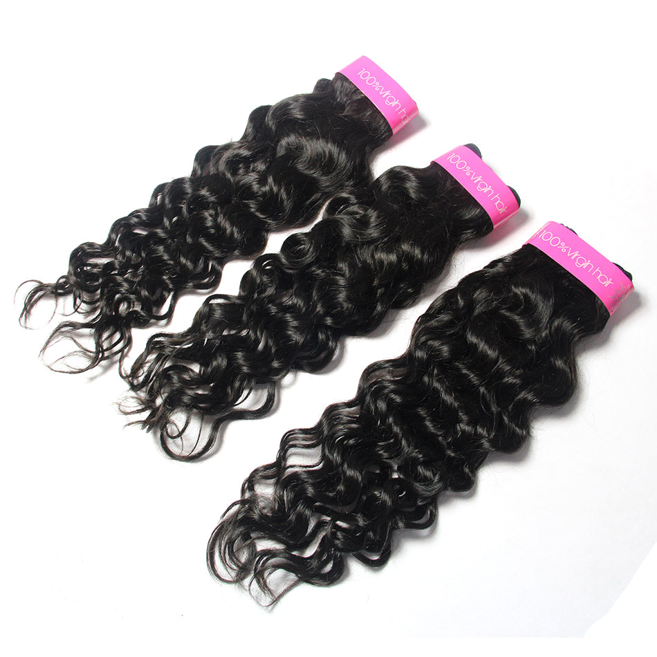 Brazilian Virgin Remy Human Hair Italian Curly 3Bundles vendor |TENLON