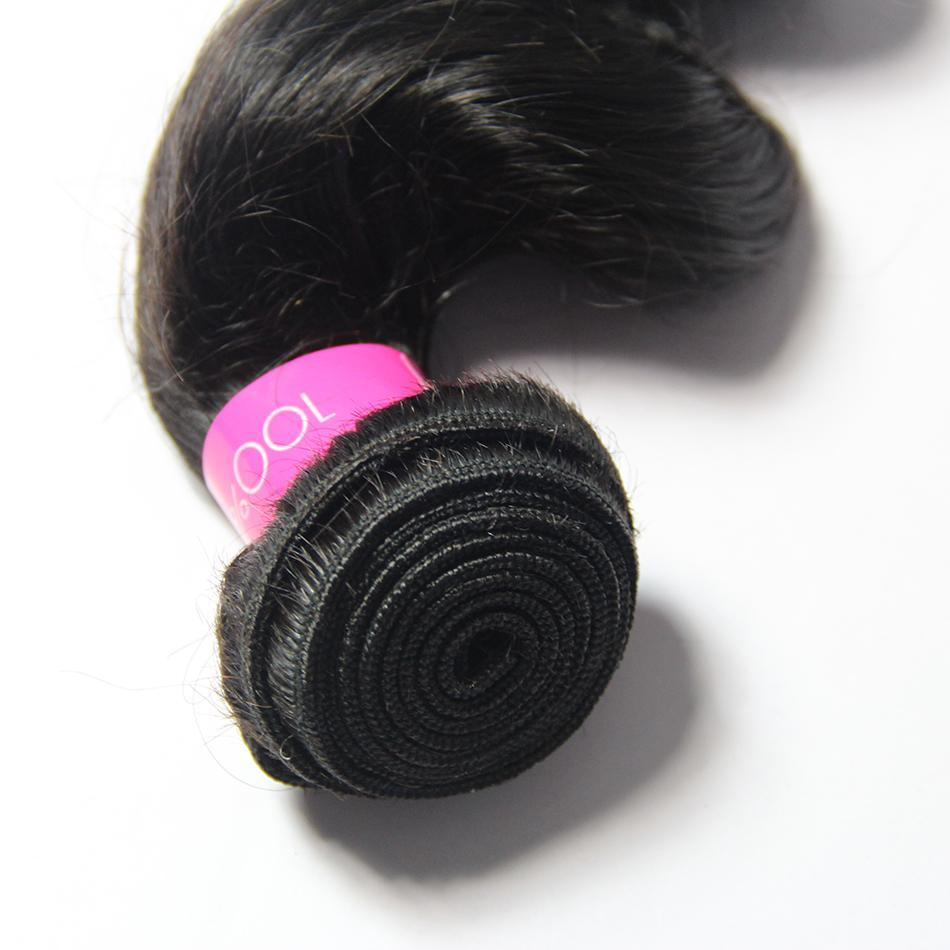 wholesale virgin raw body wave Brazilian hair 3 bundles & closure-Tenlon
