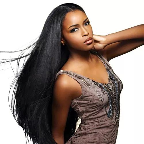 Malaysian straight Unprocessed virgin human hair weaves 4 bundles-Tenlon