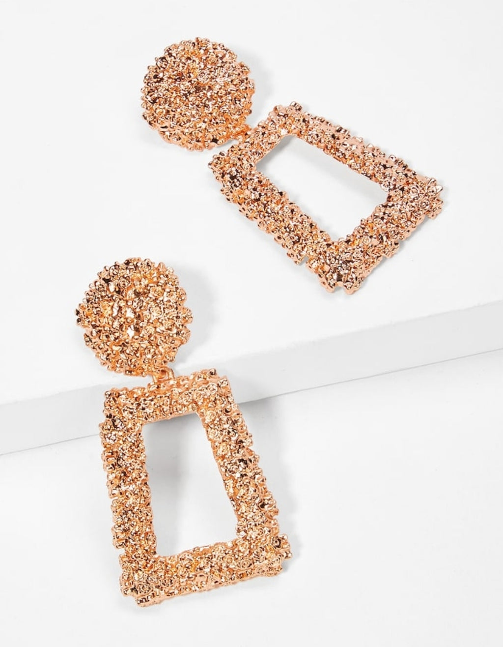 Sky Rose Gold Earrings