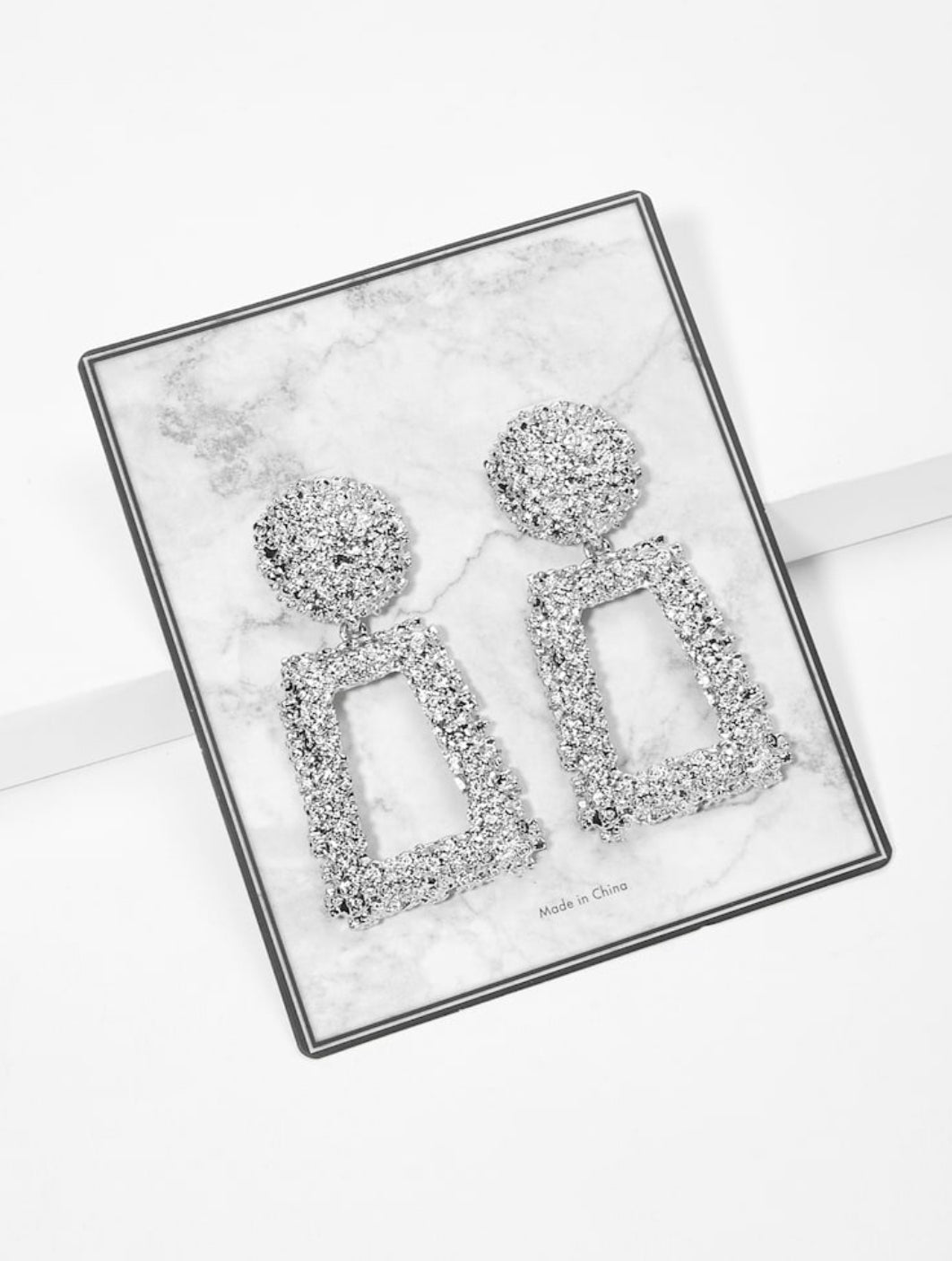 Sky Silver Earrings
