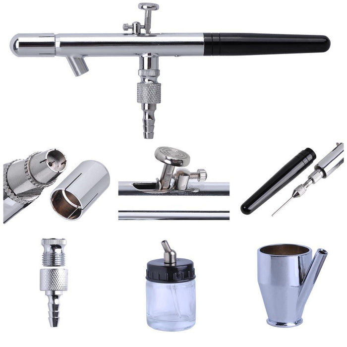 ArtBrush Pro - Dual Action Airbrush Kit Air Compressor w/ Tank