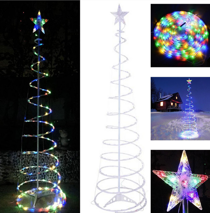 StarTree - 6ft LED Spiral Christmas Tree Decoration