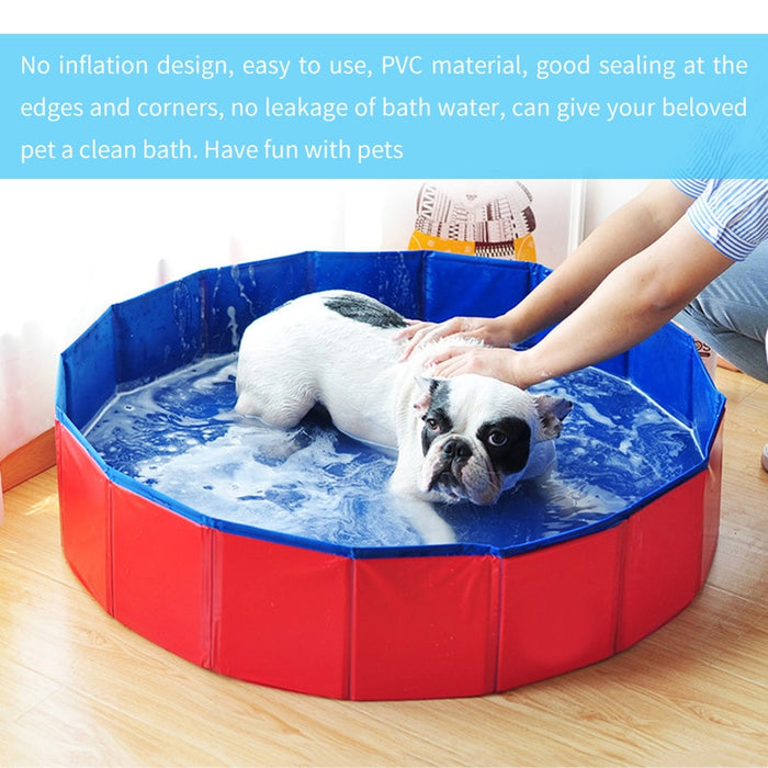 DoggiePool™ Pet Swimming Pool Bath Tub