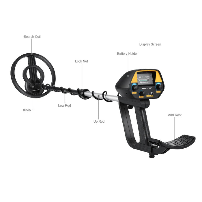 Premium Waterproof Gold Metal Detector