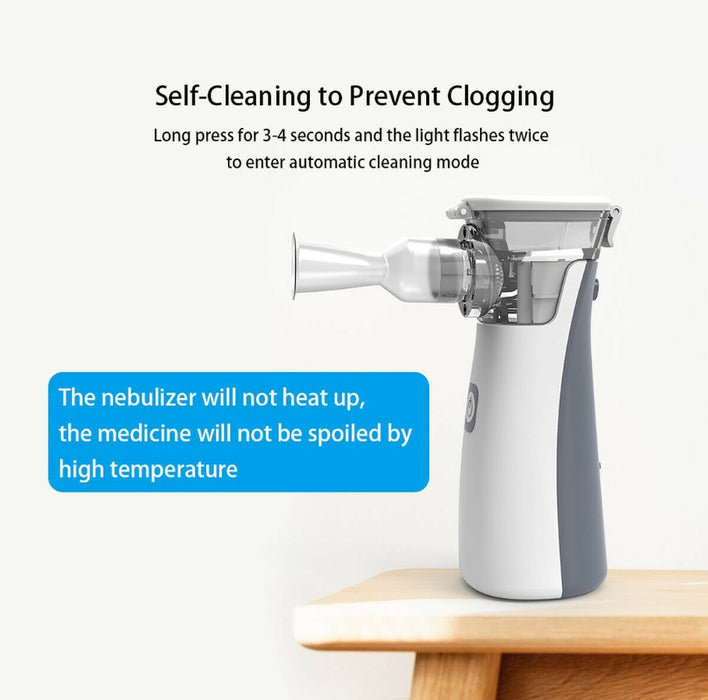 Breezy Pro - The #1 Portable Nebulizer