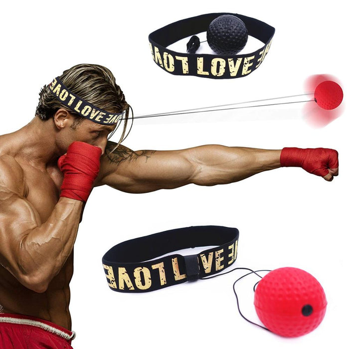 BoxeBand™ Boxing Reflex Headband Speed Ball