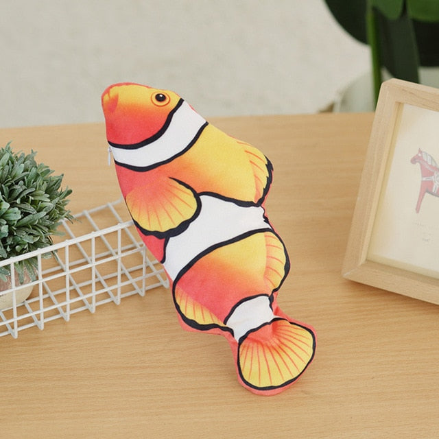 FlabbyFish™ - Electric Moving Fish Cat Toy Flopping
