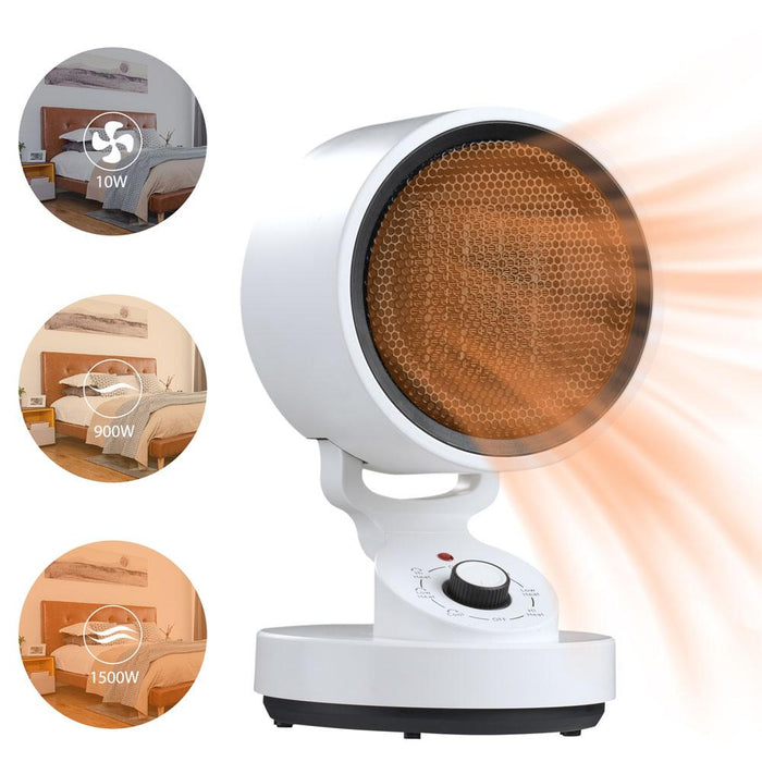 HotCool™ Portable Heater & Cooling Fan 1500w