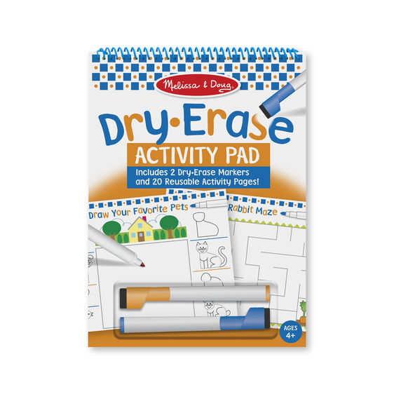 Melissa and Doug - Dry Erase Activity Pad