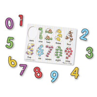 Melissa and Doug- See-Inside Numbers Peg Puzzle