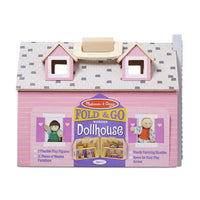 Melissa and Doug - Fold & Go Dollhouse