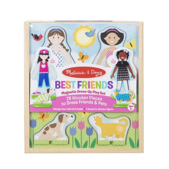 Melissa and Doug - Best Friends Magnetic Dress-Up Play Set