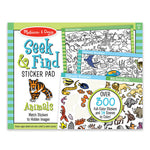 Melissa and Doug - Seek and Find Sticker Pad - Animals