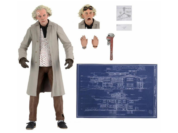 NECA- Ultimate Doc Brown *Pre-order*