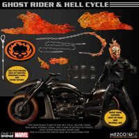 Mezco One:12- Ghost Rider with Hell Cycle *Pre-order*