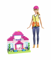 Barbie - Builder Doll Playset