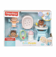 Fisher Price - Little People - Snacks and Snuggles Bundle