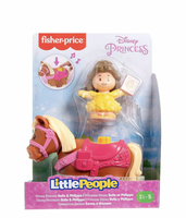 Fisher Price - Little People - Disney - Belle & Phillippe