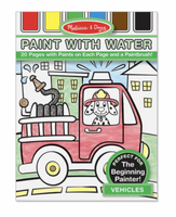 Melissa and Doug - Paint with Water - Vehicles