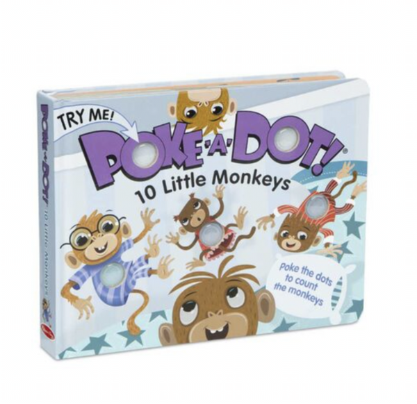 Melissa and Doug - Poke-A-Dot - 10 Little Monkeys
