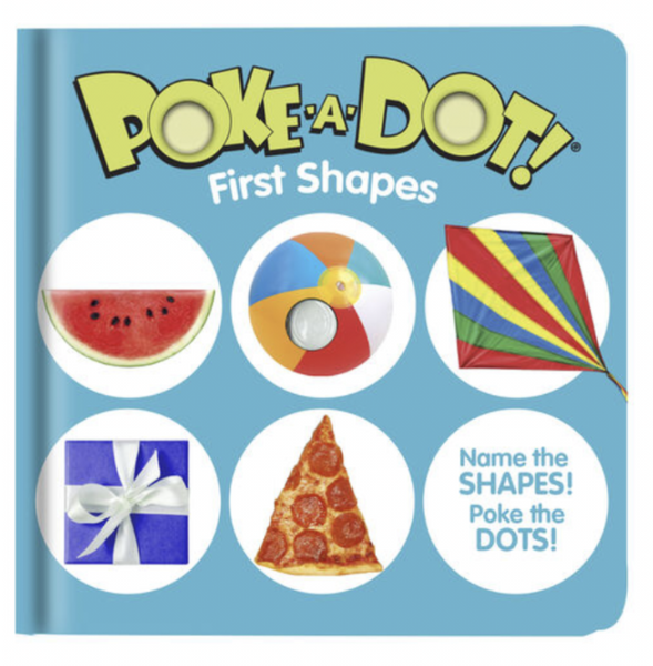 Melissa and Doug - Poke-a- Dot - First Shapes