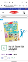 Melissa and Doug - Scissor Skills - Sea Life