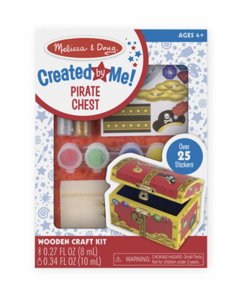 Melissa and Doug - Created by Me - Pirate Chest