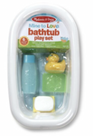 Melissa and Doug - Mine to Love - Bathtub Playset