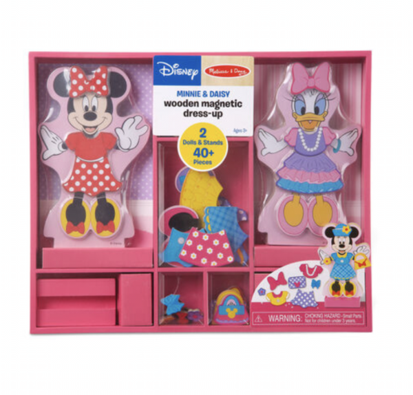 Melissa and Doug - Disney - Minnie & Daisey Magnetic Dress-Up