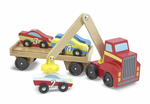Melissa and Doug - Magnetic Car Loader