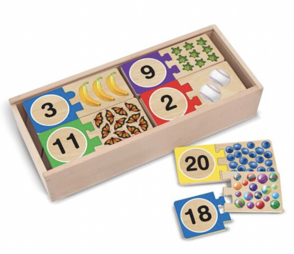 Melissa and Doug - Self Correcting Number Puzzle