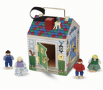 Melissa and Doug - Wooden Doorbell House