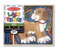 Melissa and Doug - Lace & Trace - Pets