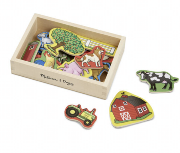 Melissa and Doug - Magnets - Farm