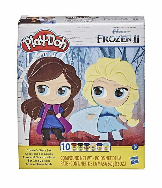 Play-Doh- Frozen 2- Create N Style