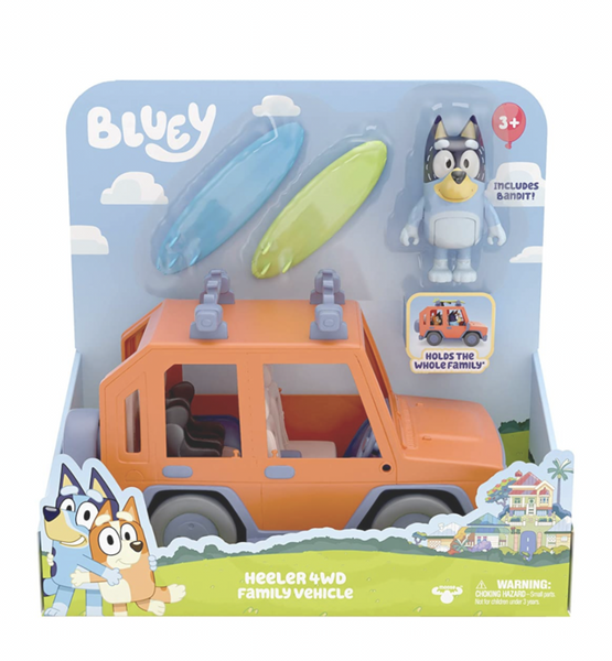 Bluey - Heeler 4WD Family Vehicle
