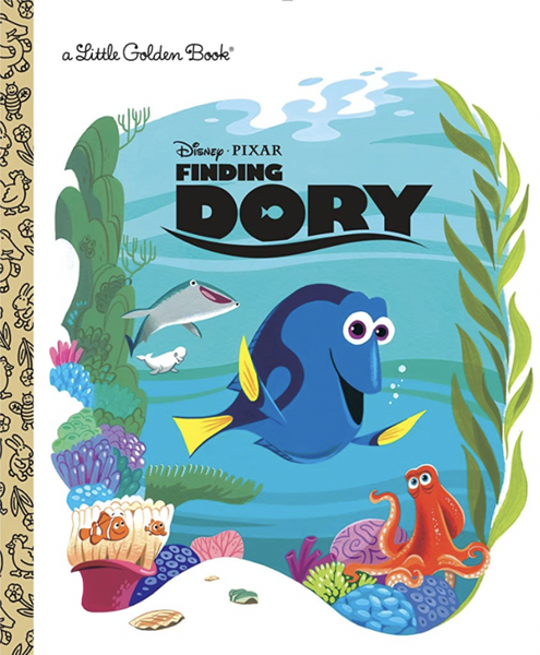 Little Golden Book- Finding Dory