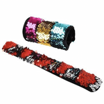 Slap Bracelet - Sequin Assorted