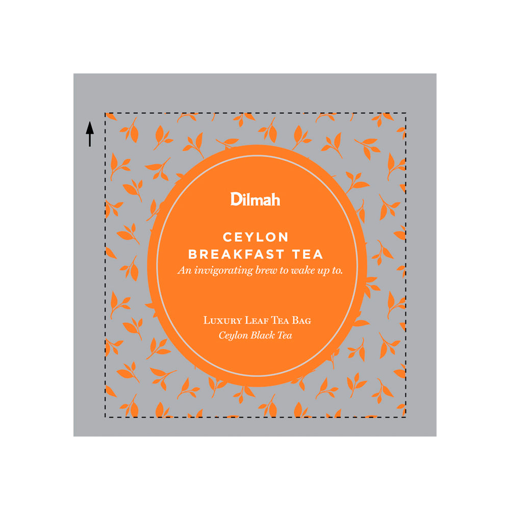 200 bolsitas Té negro Ceylon English Breakfast Dilmah