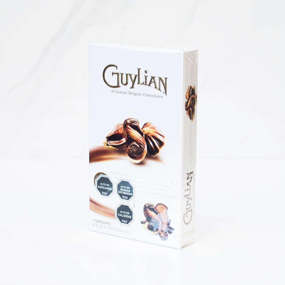 Bombones de chocolate Sea Shell surtido Guylian 125 gr
